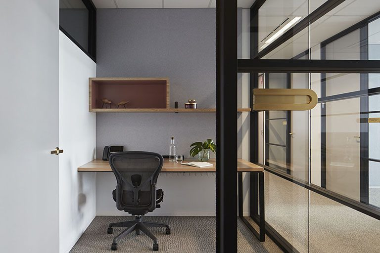 Work space in Melbourne