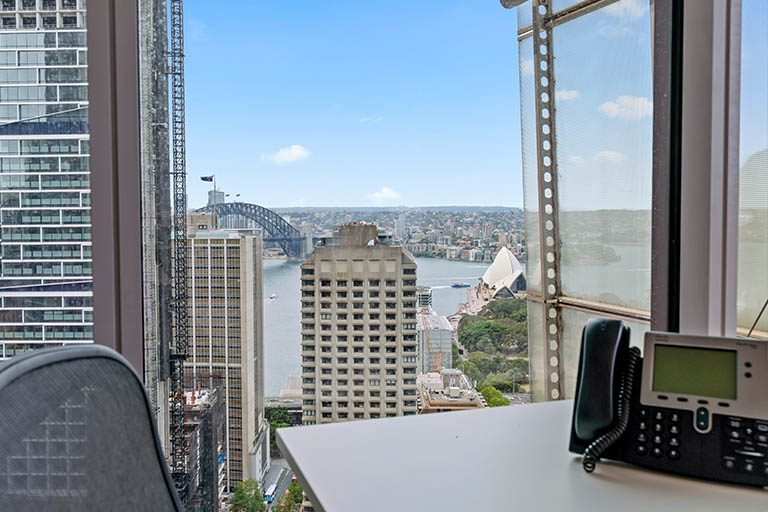 Serviced office space in Sydney available for rent