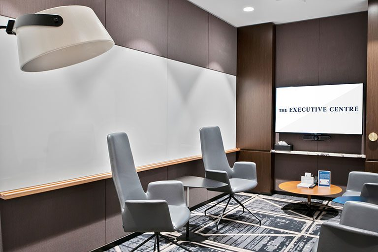 Meeting room interior in a Melbourne centre