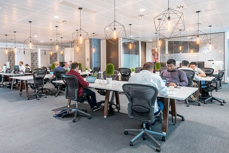 Professionals working at Coworking space in Sydney