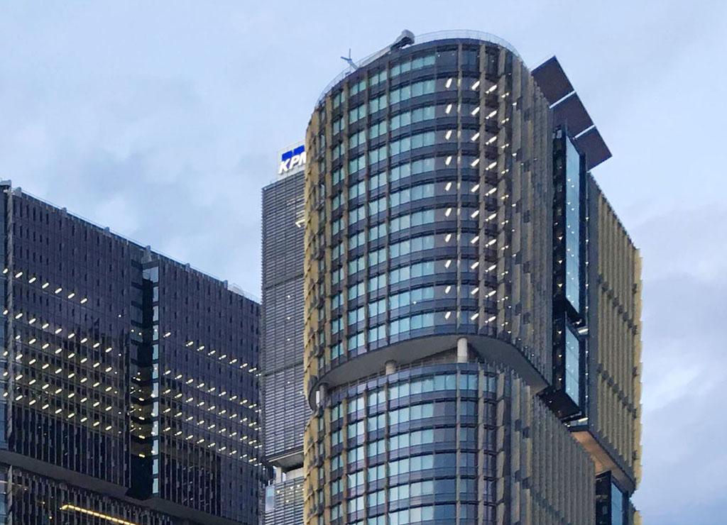 Three International Towers