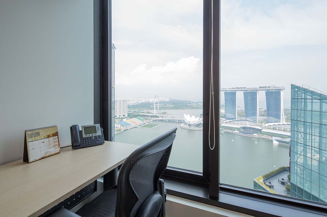 Private Offices Rental in Raffles Place