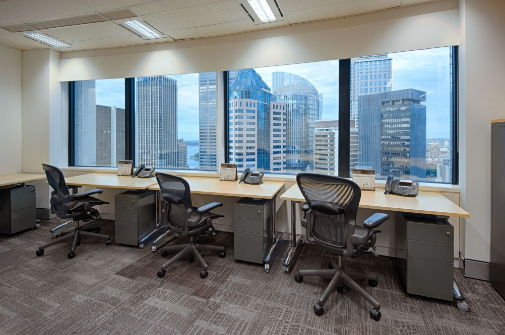 Fully-furnished Office Spaces