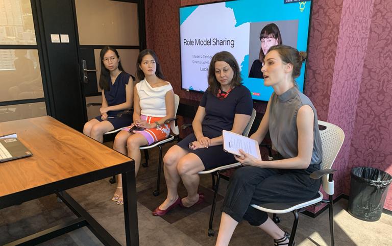 The leadership talk of 'Inspiring Girls Hong Kong'