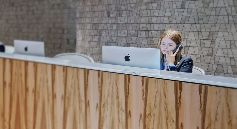 Engagement team at TEC that handles phone calls and mails for Virtual Office clients