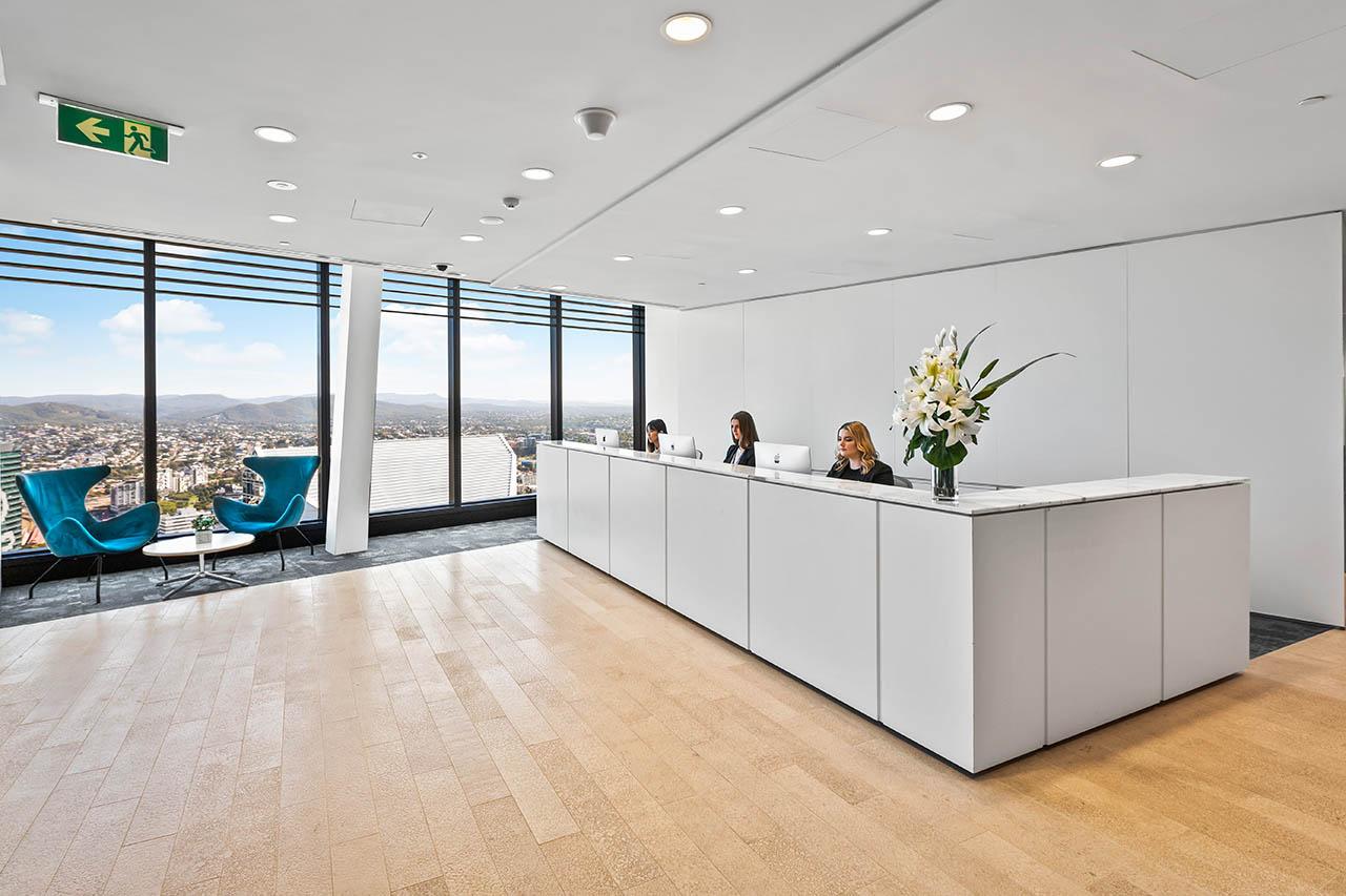 租用位于布里斯班市中心的联合办公室