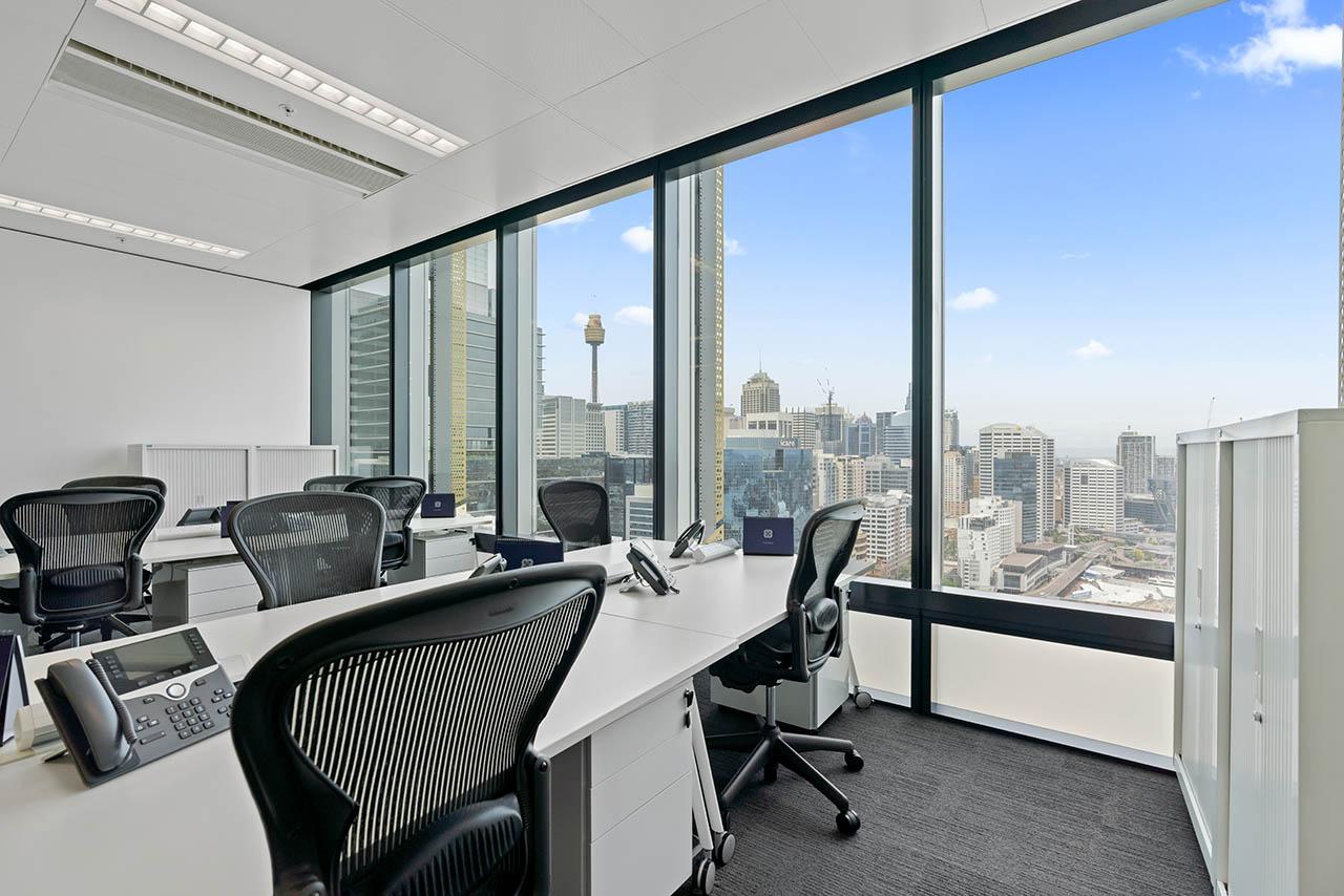 租用位于悉尼市中心的私人办公室