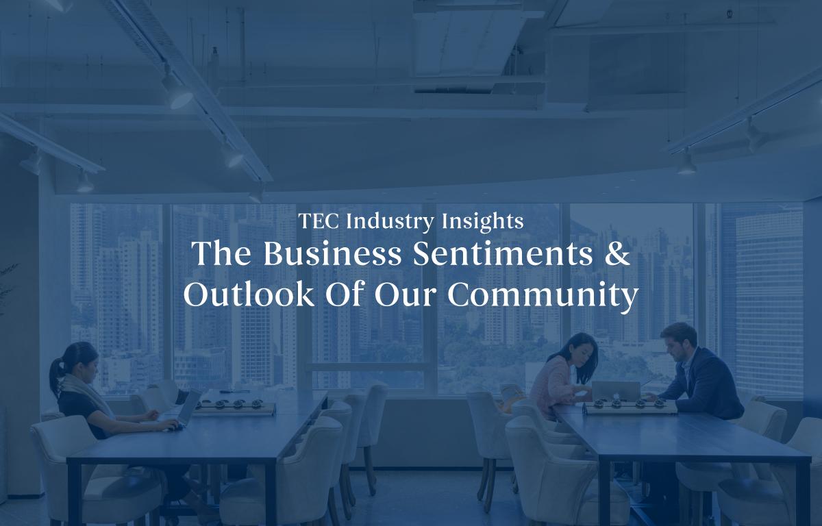 TECコミュニティのビジネスセンチメント