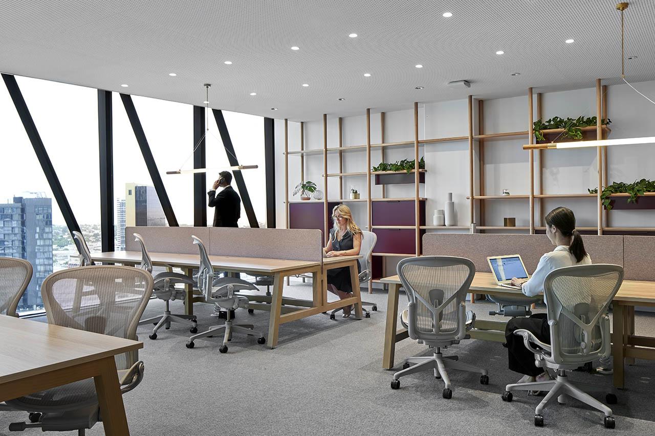 멜버른 비즈니스 중심에 위치한 코워킹 오피스를 임대하세요