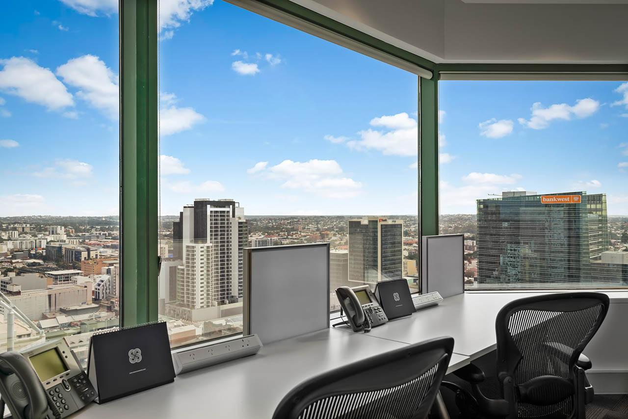 퍼스 비즈니스 중심에 위치한 전용 사무실을 임대하세요