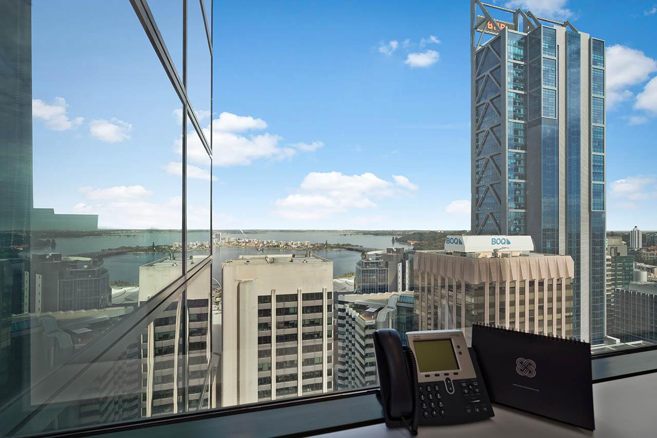 퍼스 비즈니스 중심 랜드마크 빌딩의 비즈니스 주소를 이용하세요
