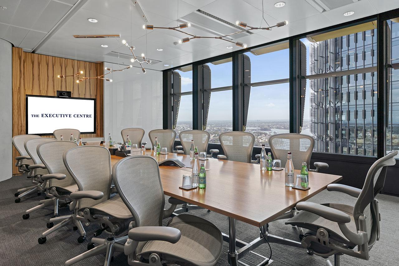 시드니의 비즈니스 중심에 위치한 회의실에서 여러분의 다음 회의를 주최해보세요